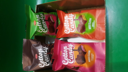 شکلات پشمکی شیرین وطن